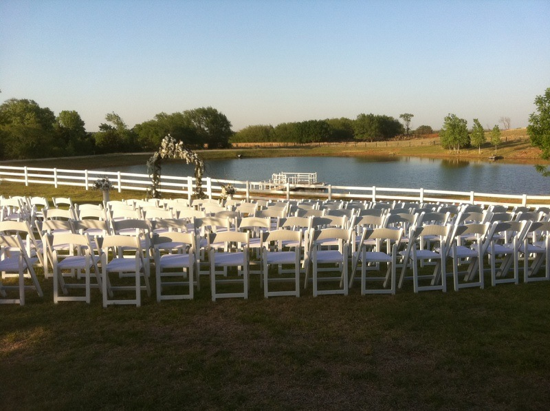 Sunset Outdoor Wedding