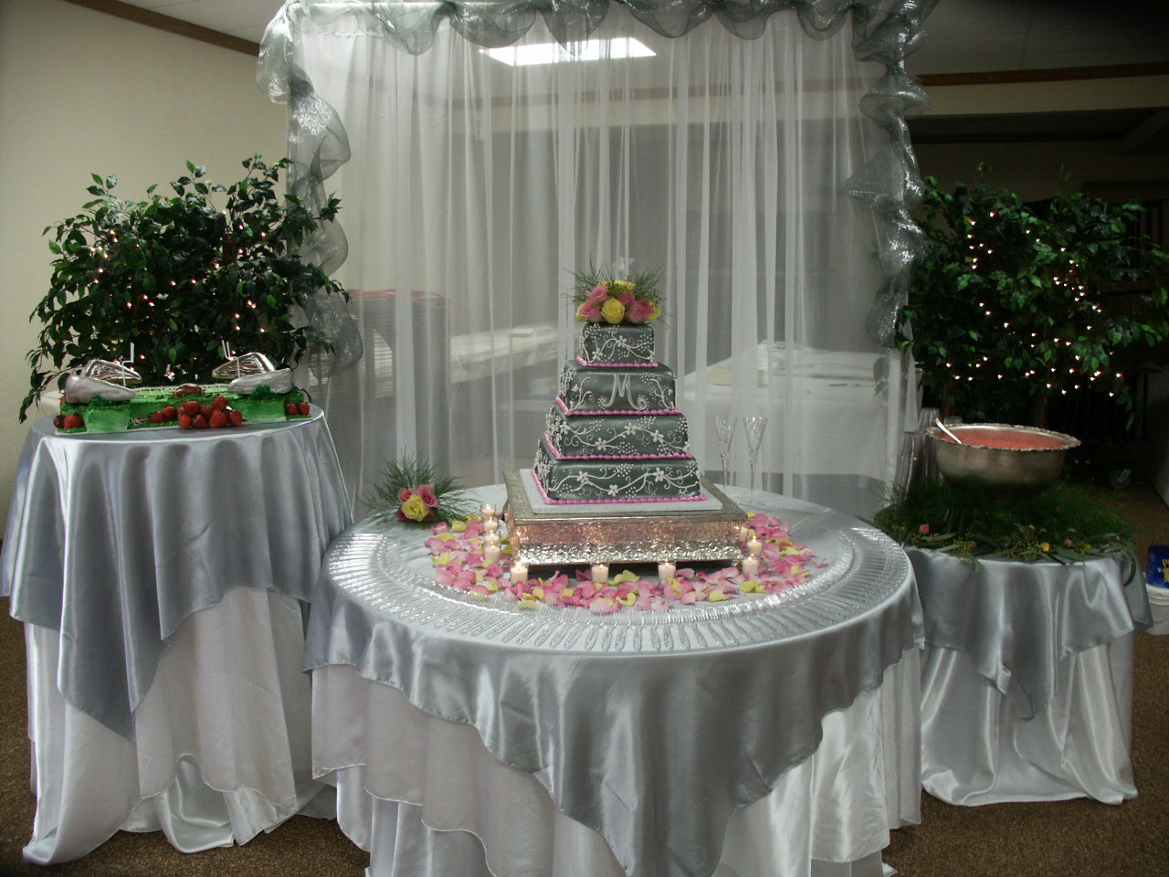 Wedding Cake by The Cake Lady