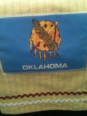 Oklahoma Dish Towel-