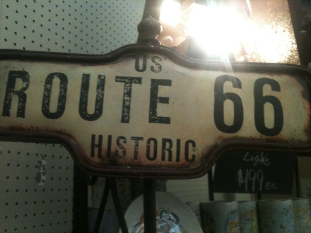 Route 66 Sign-