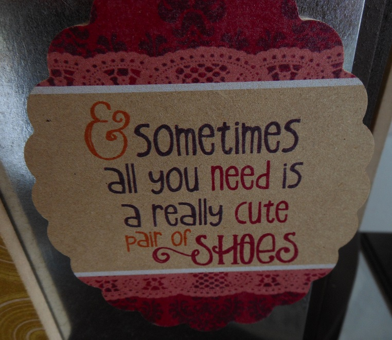 Cute Pair of Shoes Magnet-