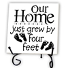 Our Home Grew by Four Feet-