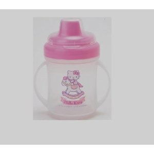 Hello Kitty Double Handle Sippy Cup-
