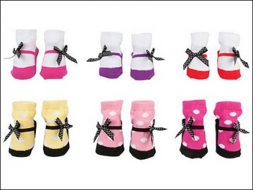 Newborn Ballet Socks-