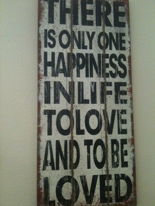 One Happiness Sign-