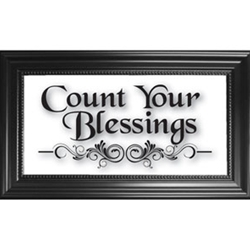 Count Your  Blessings-