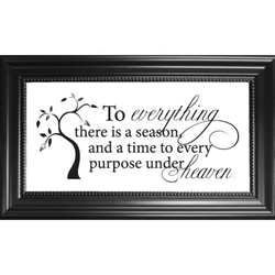 To Everything There is a Season-
