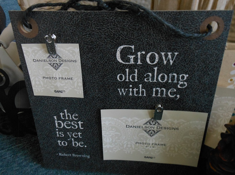 Grow old with me frame-