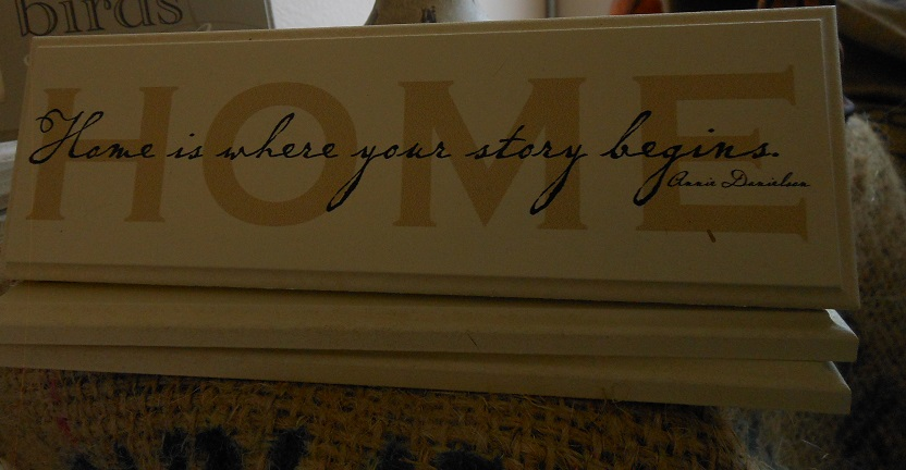 Home Plaque-