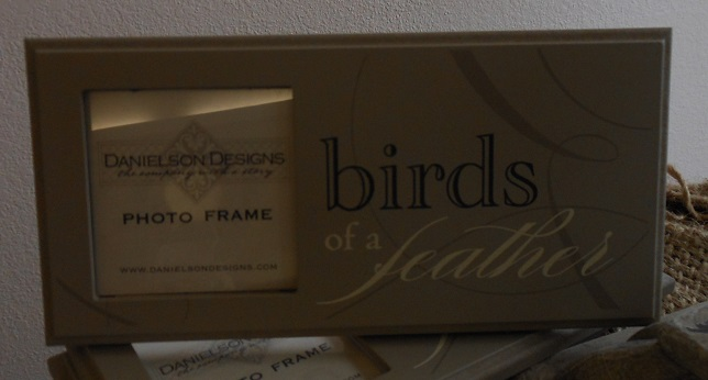 Birds of a feather frame-