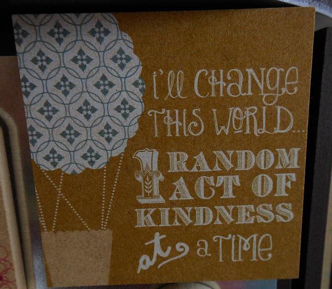 I'll change the world magnet-