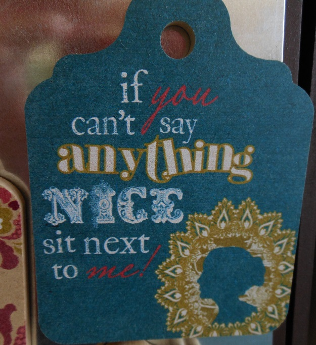 If you can't say anything nice magnet-