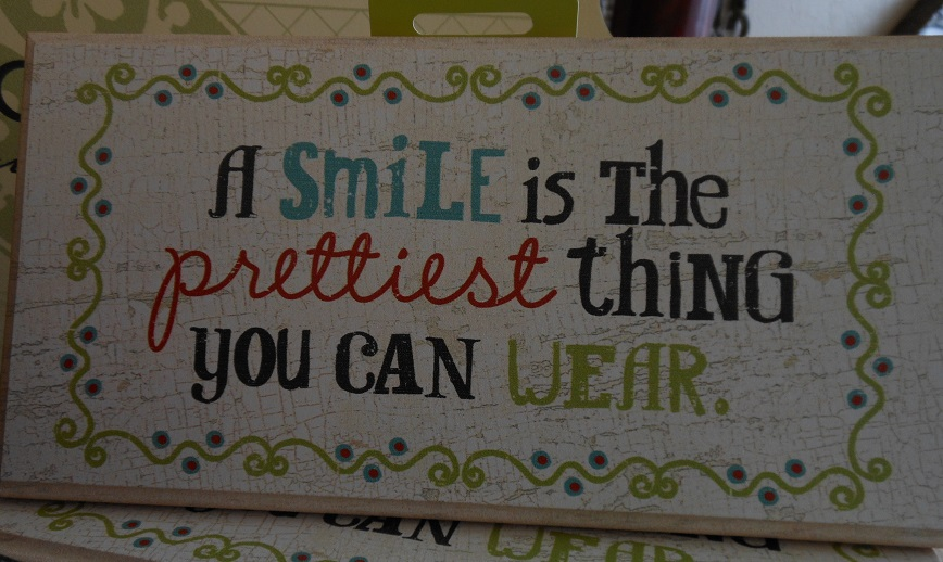 Smile Plaque-