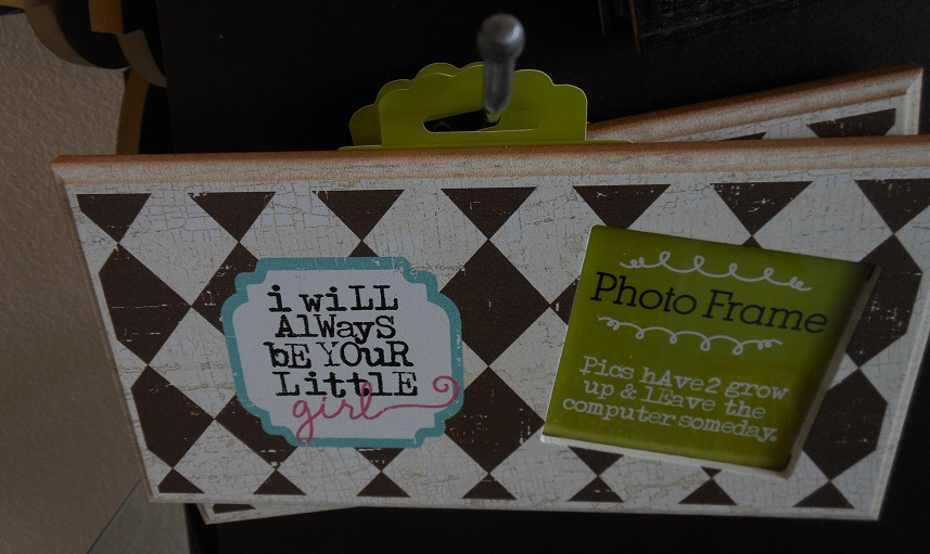 Always be Your Little Girl Frame-