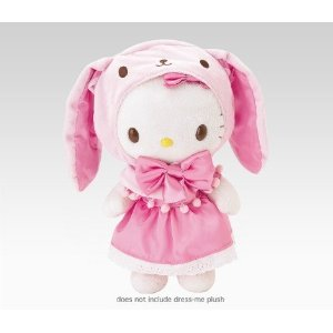 Hello Kitty Dress Me Bunny Outfit-