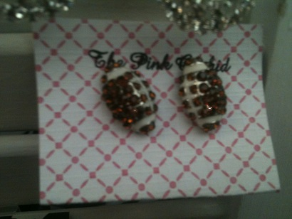Football Earrings-