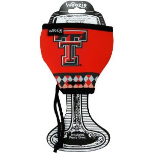 Texas Tech Woozie-wine, barware, kitchen