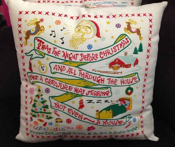 Catstudio Petite Pillow 'Twas the Night Before Christmas-