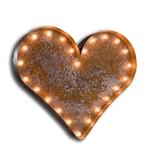 Vintage Marque Heart-Valentine, heart, love, light, wedding