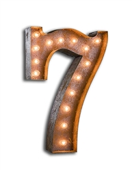 Vintage Marque Numbers- 0-9 AVAILABLE-