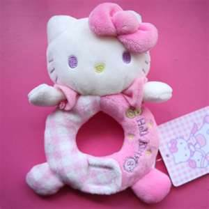 Hello Kitty Plush Hoop Rattle-