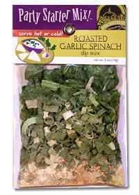Roasted Garlic Spinach Dip Mix-