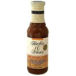 Fischer & Wieser Mango Ginger Habanero Sauce-