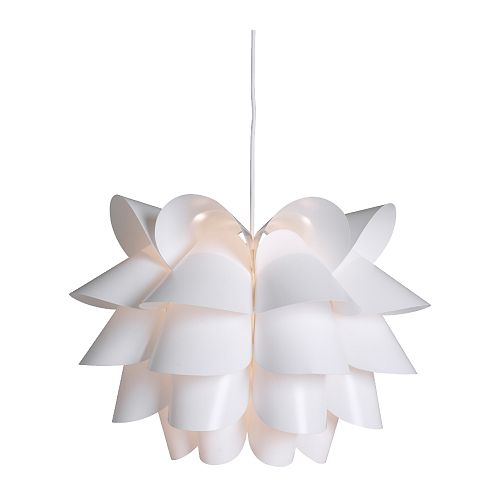 Modern White Pendant Light-