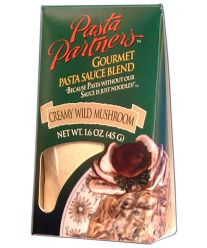 Creamy Wild Mushroom Sauce-