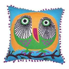 Karma Living Owl Pillow-