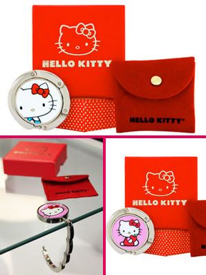 Hello Kitty Purse Hooks-hello kitty, purse, accessories,